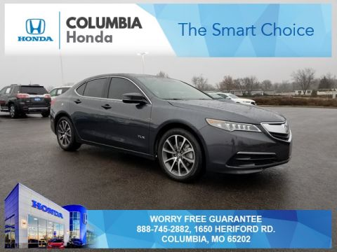 Pre-Owned 2015 Acura TLX 3.5L V6 FWD 4D Sedan