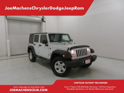 Pre-Owned 2014 Jeep Wrangler Unlimited Sport 4WD 4D Sport Utility