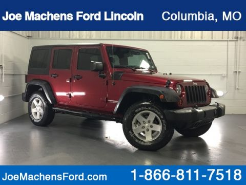 Pre-Owned 2013 Jeep Wrangler Unlimited Sport 4WD 4D Sport Utility