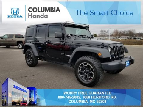 Pre-Owned 2017 Jeep Wrangler Unlimited Sport 4WD 4D Sport Utility