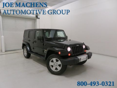 Pre-Owned 2012 Jeep Wrangler Unlimited Sahara 4WD 4D Sport Utility
