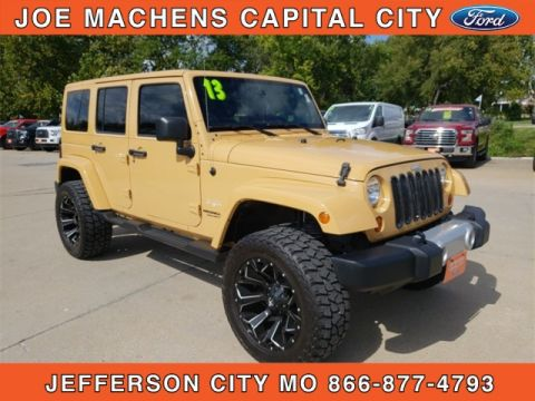 Pre-Owned 2013 Jeep Wrangler Unlimited Sahara 4WD 4D Sport Utility