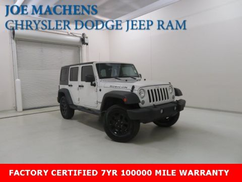 Pre-Owned 2014 Jeep Wrangler Unlimited Rubicon 4WD 4D Sport Utility
