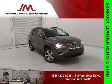 Pre-Owned 2017 Jeep Compass Latitude FWD 4D Sport Utility