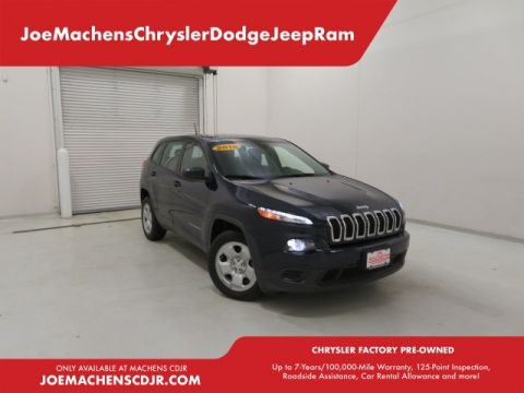 Pre-Owned 2016 Jeep Cherokee Sport FWD 4D Sport Utility