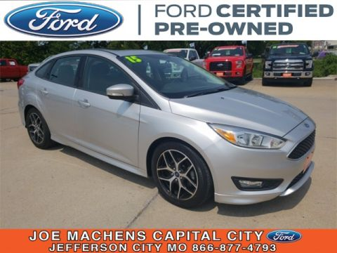 Pre-Owned 2015 Ford Focus SE FWD 4D Sedan
