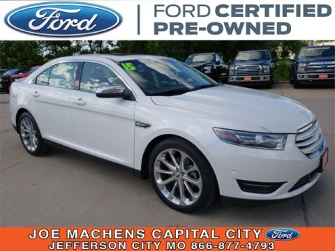 Pre-Owned 2015 Ford Taurus Limited AWD 4D Sedan
