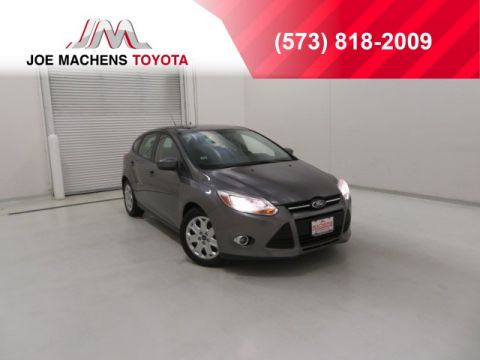 Pre-Owned 2012 Ford Focus SE FWD 4D Hatchback