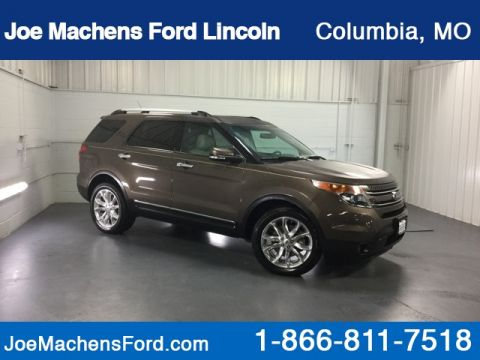 Pre-Owned 2015 Ford Explorer Limited AWD 4D Sport Utility