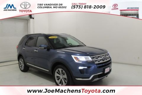 Pre-Owned 2018 Ford Explorer Limited AWD 4D Sport Utility