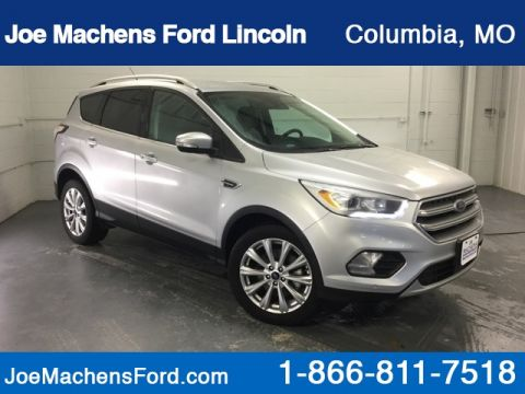Pre-Owned 2017 Ford Escape Titanium FWD 4D Sport Utility