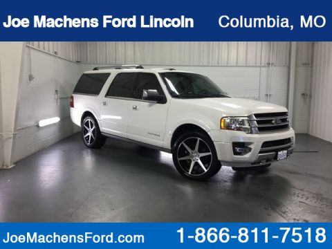 Pre-Owned 2015 Ford Expedition EL Platinum 4WD 4D Sport Utility