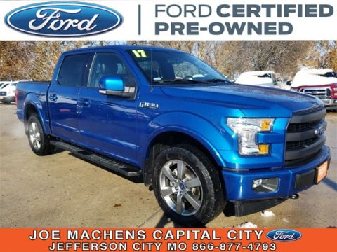Pre-Owned 2017 Ford F-150 Lariat 4WD 4D SuperCrew