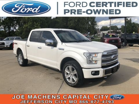 Pre-Owned 2016 Ford F-150 Platinum 4WD 4D SuperCrew