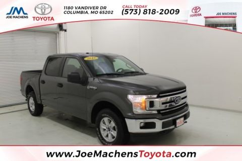 Pre-Owned 2018 Ford F-150 XLT 4WD 4D SuperCrew