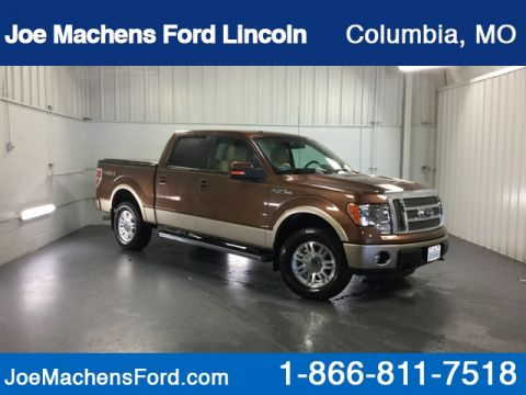 Pre-Owned 2012 Ford F-150 Lariat 4WD 4D SuperCrew