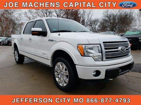 Pre-Owned 2012 Ford F-150 Platinum 4WD 4D SuperCrew