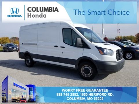 Pre-Owned 2017 Ford Transit-250 Base RWD 3D Medium Roof Cargo Van