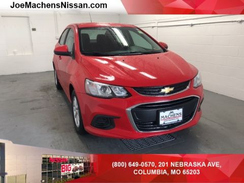 Pre-Owned 2017 Chevrolet Sonic LT FWD 4D Sedan