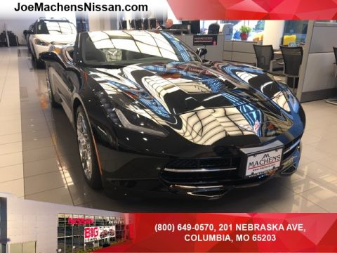 Pre-Owned 2015 Chevrolet Corvette Stingray Z51 RWD 2D Convertible