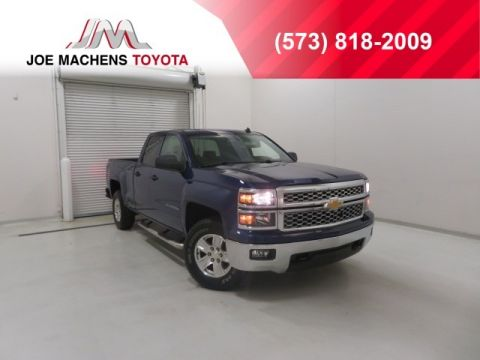 Pre-Owned 2014 Chevrolet Silverado 1500 LT 4WD 4D Double Cab