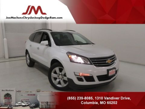 Pre-Owned 2016 Chevrolet Traverse LT FWD 4D Sport Utility