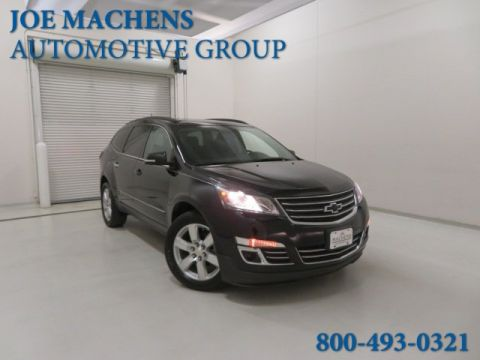 Pre-Owned 2016 Chevrolet Traverse LTZ AWD 4D Sport Utility