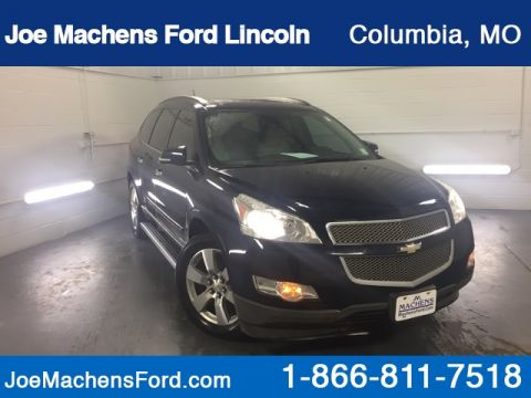 Pre-Owned 2010 Chevrolet Traverse LTZ AWD 4D Sport Utility