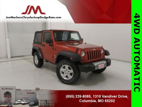 Pre-Owned 2011 Jeep Wrangler Sport 4WD 2D Sport Utility