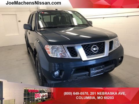 Pre-Owned 2018 Nissan Frontier PRO 4WD 4D Crew Cab