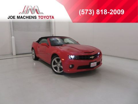 Pre-Owned 2011 Chevrolet Camaro SS RWD 2D Convertible