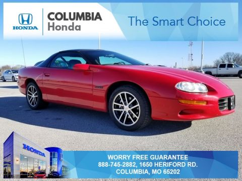Pre-Owned 2002 Chevrolet Camaro Z28 RWD 2D Coupe