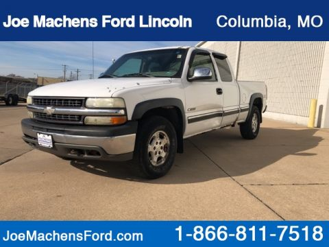 Pre-Owned 2002 Chevrolet Silverado 1500 LS 4WD Standard Bed