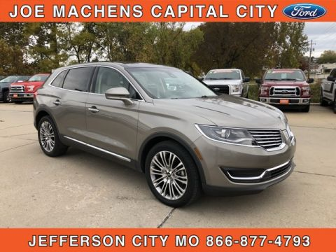 Pre-Owned 2016 Lincoln MKX Reserve AWD 4D Sport Utility