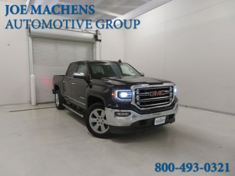 Pre-Owned 2016 GMC Sierra 1500 SLT 4WD 4D Crew Cab