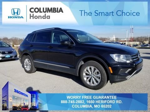 Pre-Owned 2018 Volkswagen Tiguan 2.0T SE AWD 4D Sport Utility