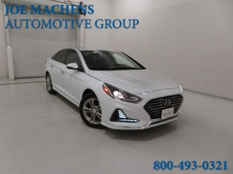 Pre-Owned 2018 Hyundai Sonata SEL+ FWD 4D Sedan
