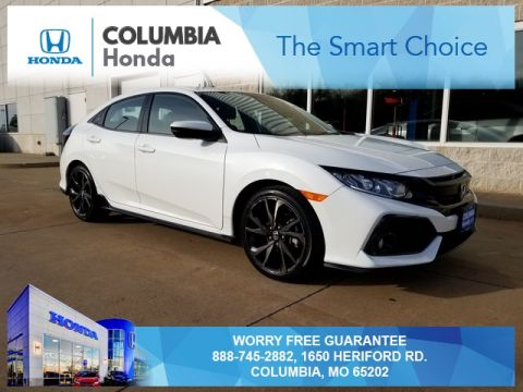 Pre-Owned 2018 Honda Civic Sport FWD 4D Hatchback