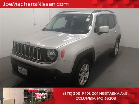 Pre-Owned 2017 Jeep Renegade Latitude 4WD 4D Sport Utility